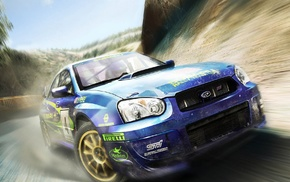 rally cars, car, Subaru Impreza, blue cars