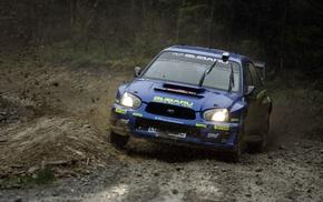 car, rally cars, Subaru Impreza