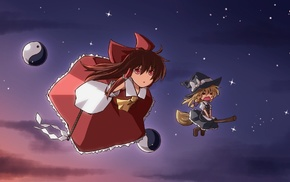 Touhou, Kirisame Marisa, Hakurei Reimu