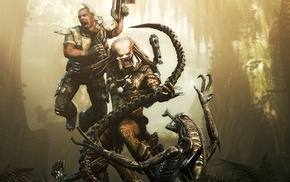 Alien vs. Predator, Predator movie, video games, Alien movie, PC gaming, aliens