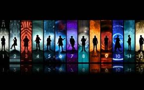 John Hurt, Christopher Eccleston, Matt Smith, Peter Capaldi, Doctor Who, David Tennant
