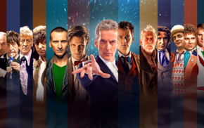 Christopher Eccleston, Tom Baker, Peter Capaldi, Doctor Who, The Doctor, David Tennant