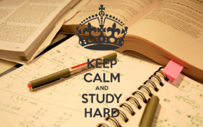 quote, Keep Calm and..., books