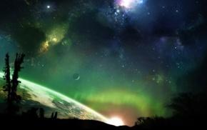 космос, звезды