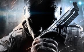 video games, gun, soldier, pistol