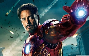 Tony Stark, The Avengers, Iron Man, Robert Downey Jr., movies