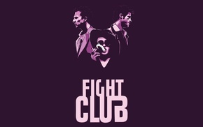 Fight Club, Helena Bonham Carter, Edward Norton, Brad Pitt