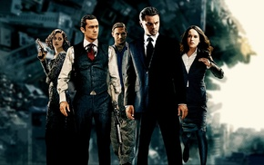 Leonardo DiCaprio, Joseph Gordon, Levitt, Tom Hardy, Inception, Ellen Page