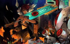Transistor, video games, Red Transistor