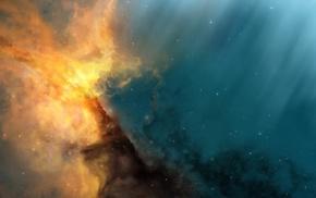 космос, звезды, космический арт, галактика