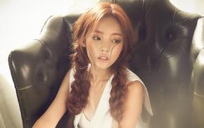 корейское, Азия, девушка