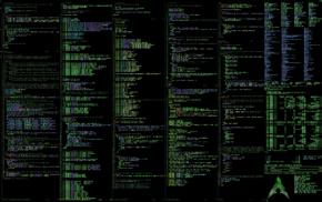 Unix, command lines, Linux, Arch Linux, unixporn
