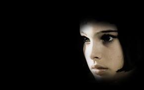 Lon The Professional, Natalie Portman, black background, movies