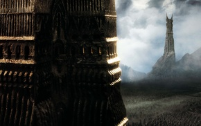 Orthanc, The Lord of the Rings, The Lord of the Rings The Two Towers, Barad, dr, movies