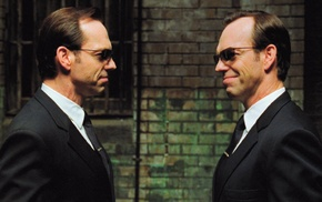 movies, Agent Smith, film stills, Hugo Weaving, The Matrix Reloaded