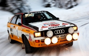 old car, car, Audi, Audi Sport Quattro S1, rally cars, sports car