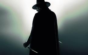 daggers, movies, V for Vendetta