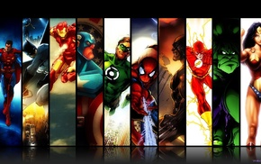Spider, Man, DC Comics, Captain America, Wolverine, Iron Man