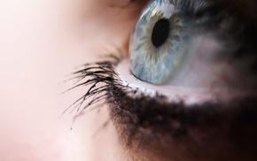 макро, глаза, глубина резкости