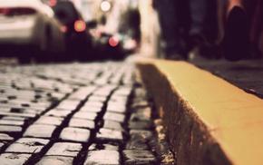 город, глубина резкости