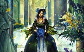 girl, fantasy art