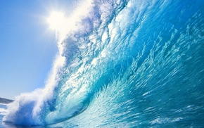 stunner, ocean, wave