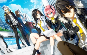 anime, Closers Dimension Conflict