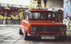 car, Stance, Russian cars, old car, VAZ, VAZ 2101