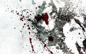 paint splatter, artwork, grunge, Alex Cherry