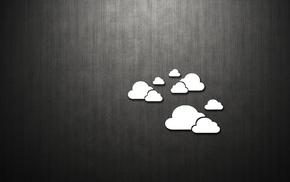 облака, минимализм