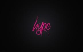 минимализм, розовый, DeviantArt, типография, черный