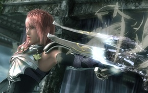 Final Fantasy, Claire Farron, video games, Final Fantasy XIII