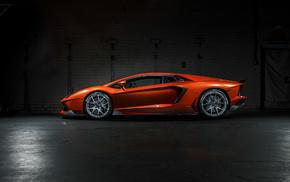 orange, cars