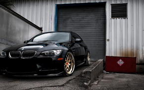 garage, BMW, cars, m3, wheels