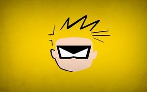 heroes, yellow, Calvin, Calvin and Hobbes, Blo0p, Spaceman Spiff