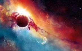 галактика, космос, космический арт, вселенная, звезды