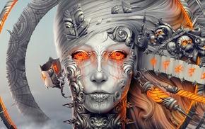 face, fantasy art