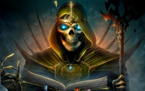 fantasy art, death, Heroes of Might and Magic
