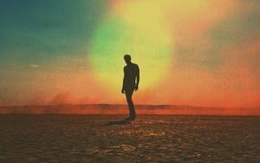 Tim Navis, Mojave, silhouette, desert, photography, Tycho