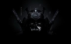 Star Wars, samurai, katana, Darth Vader