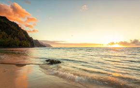 гавайи, Hawaii, океан, природа, побережье