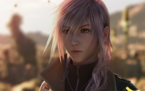 video games, Final Fantasy XIII, Final Fantasy, Claire Farron