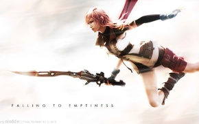 Final Fantasy, sword, Claire Farron, video games, Final Fantasy XIII