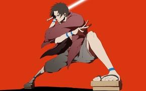 anime, anime boys, Mugen, Samurai Champloo