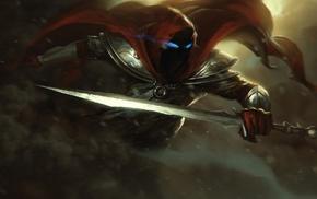 fantasy art, sword