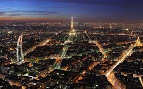 город, Франция, городской пейзаж, Эйфелева башня, Париж