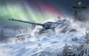 winter, video games, tank