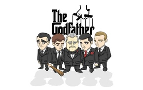 The Godfather, cartoon, Vito Corleone