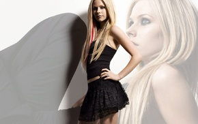 Avril Lavigne, singer, blonde