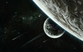 planets, space